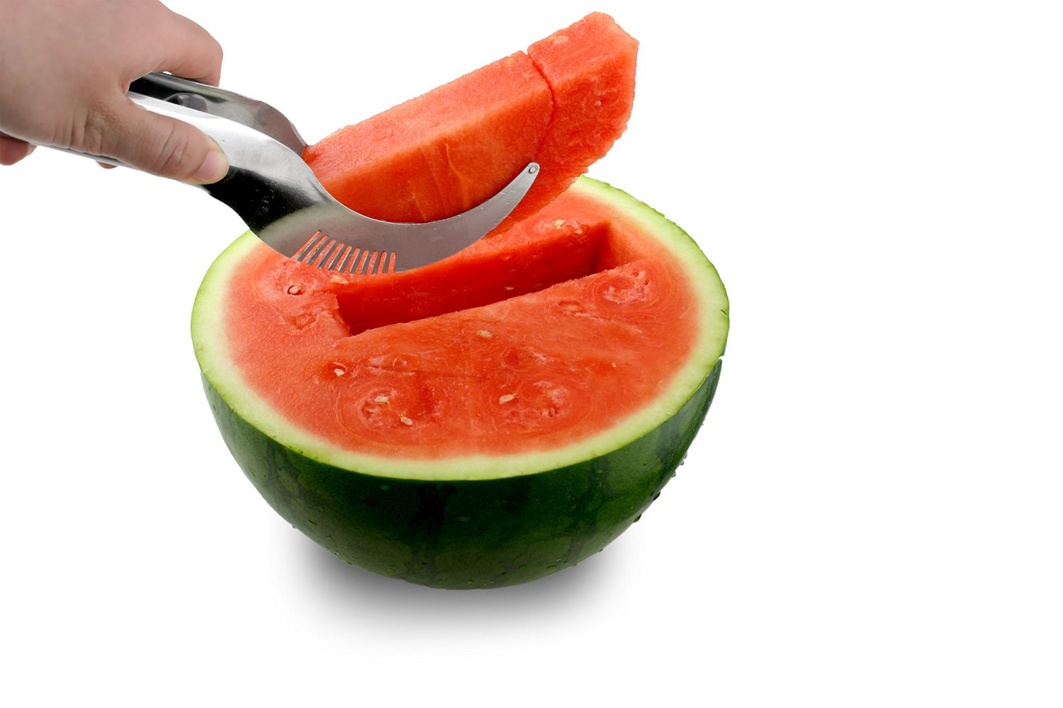 Stainless Steel Watermelon Knife Cutter Slicer Kitchen Tool Home Utensil Server