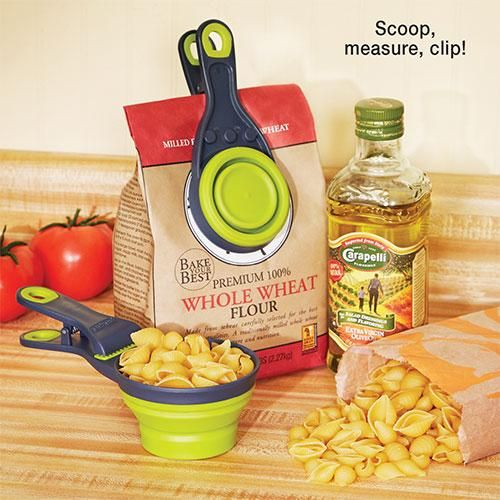KlipScoop Scoop & Measuring Cup